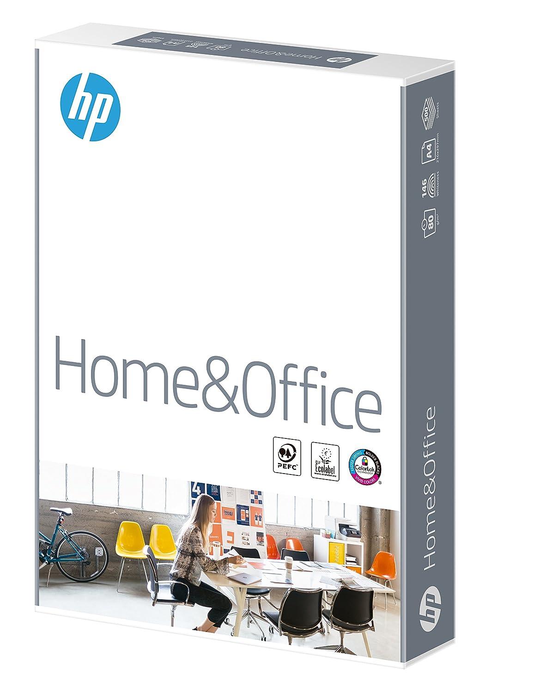 HP Home and Office Carta, Formato A4, 107 Micron, Risma 500 Fogli, Certificata ECF, PEFC ed Ecolabel, Cellulosa, Bianco Hewlett Packard CHP150