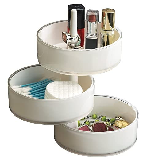 Exceptional Umbra Pivo 3 Tier Acrylic Pivoting Tray, White Awesome Ideas