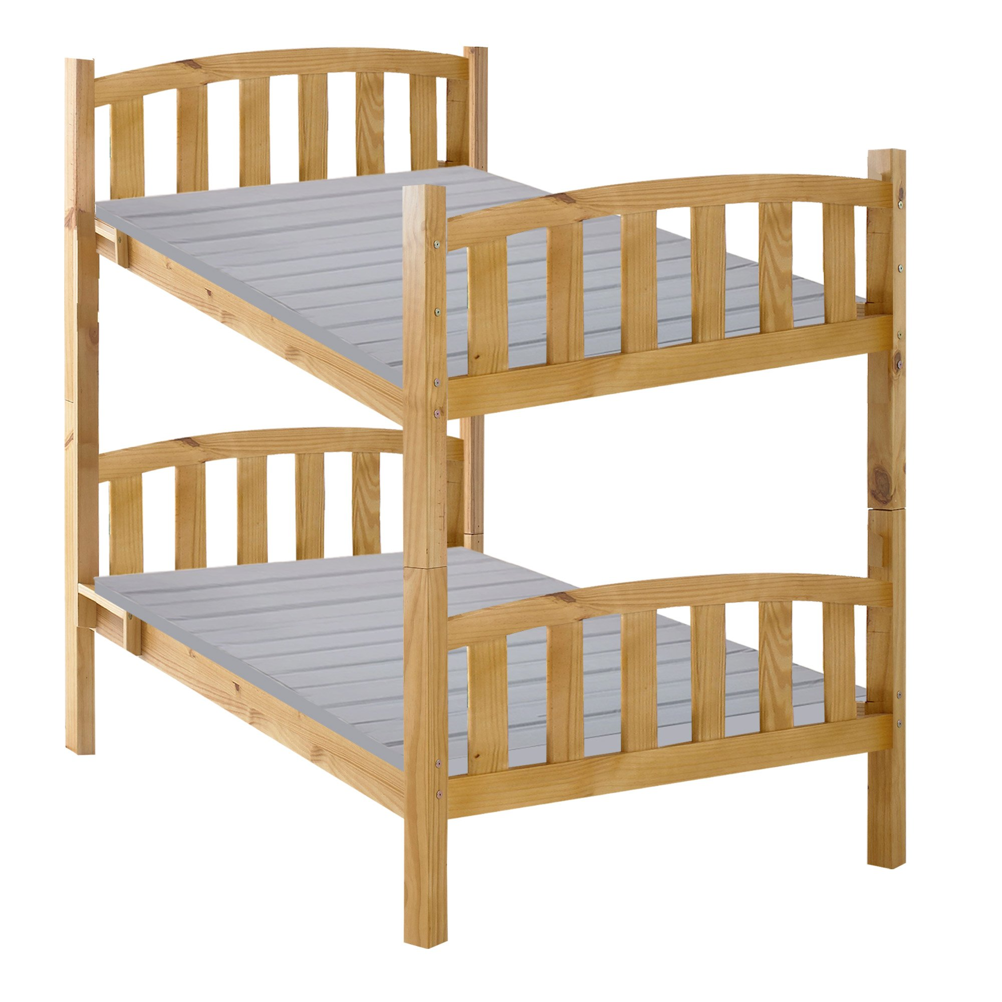 Greaton HCSBv-4/6 Heavy Duty Mattress Support Wooden Bunkie Board/Slats with Cover, Full Size by Greaton (Image #4)