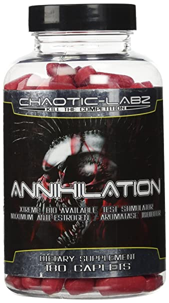 Annihilation, Extreme Bioavailability Test Stimulator 180 count