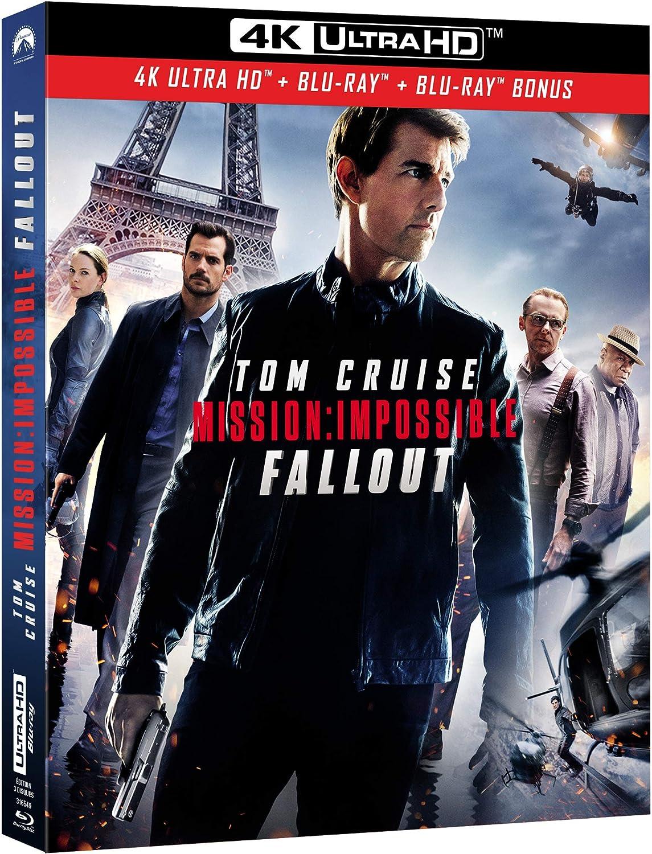 Mission: Impossible - Fallout 4K Ultra HD + Blu-ray + Blu-ray Bonus:  Amazon.co.uk: DVD & Blu-ray
