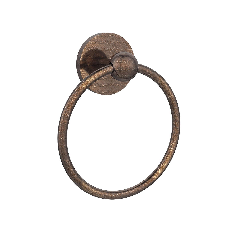 Allied Brass 1016-VB Skyline Collection Towel Ring, Venetian Bronze B003XRLCHM ベネチアンブロンズ ベネチアンブロンズ