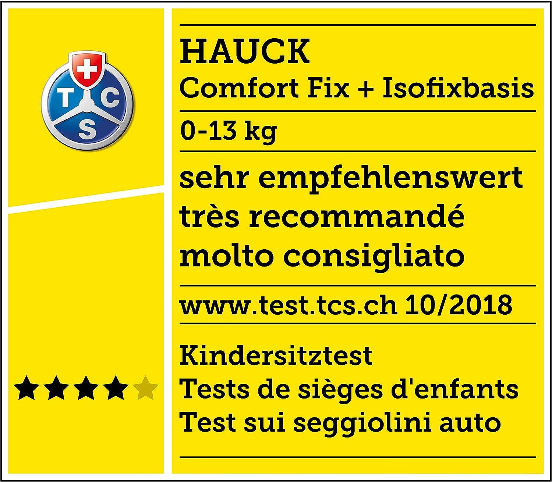 Poign/ée R/églable Hauck Rapid 3 Plus Trio Set Poussette Combin/ée 3 en 1 jusqu/à 25 kg avec Nacelle Noir Beige Si/ège Auto Cosi Poussette 3 Roues avec Position Couch/ée de 0 Mois Compacte