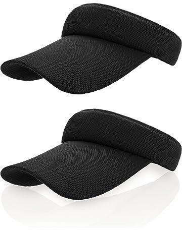 b8e3dc7e Frienda Sun Visor Cap Tennis Hat Golf Baseball Cap with Adjustable Strap