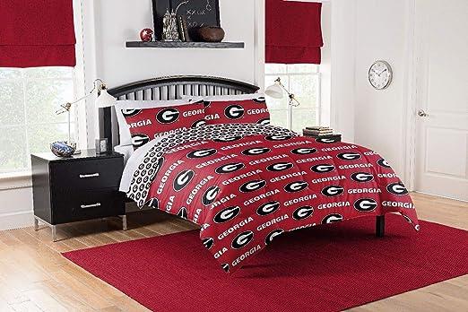 Georgia Bulldogs Comforter Set Twin Full Queen Reversible