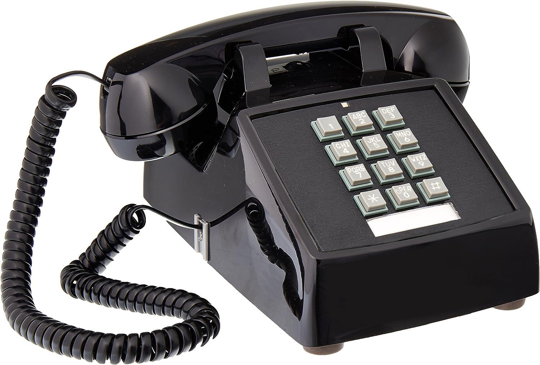 Cortelco Desk Phone, Black (250000-VBA-20M)