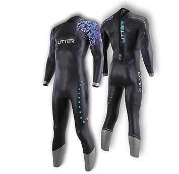 UTTER Malla Galaxy Triathlon - Traje de Neopreno para Hombre ...