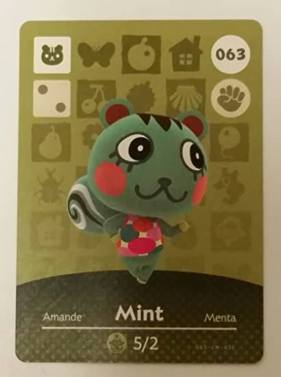 Amazon.com: Amiibo Card 063/100 - Tarjeta de felicitación ...
