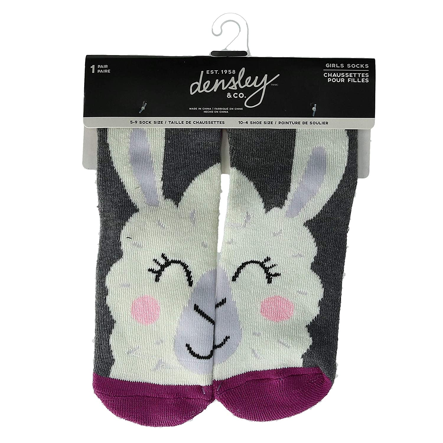 Densley & Co Girl's Critter Socks Fox