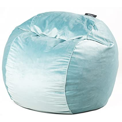 Amazon Com Cordaroy S Posh Velvet Bean Bag Chair As Seen On Shark