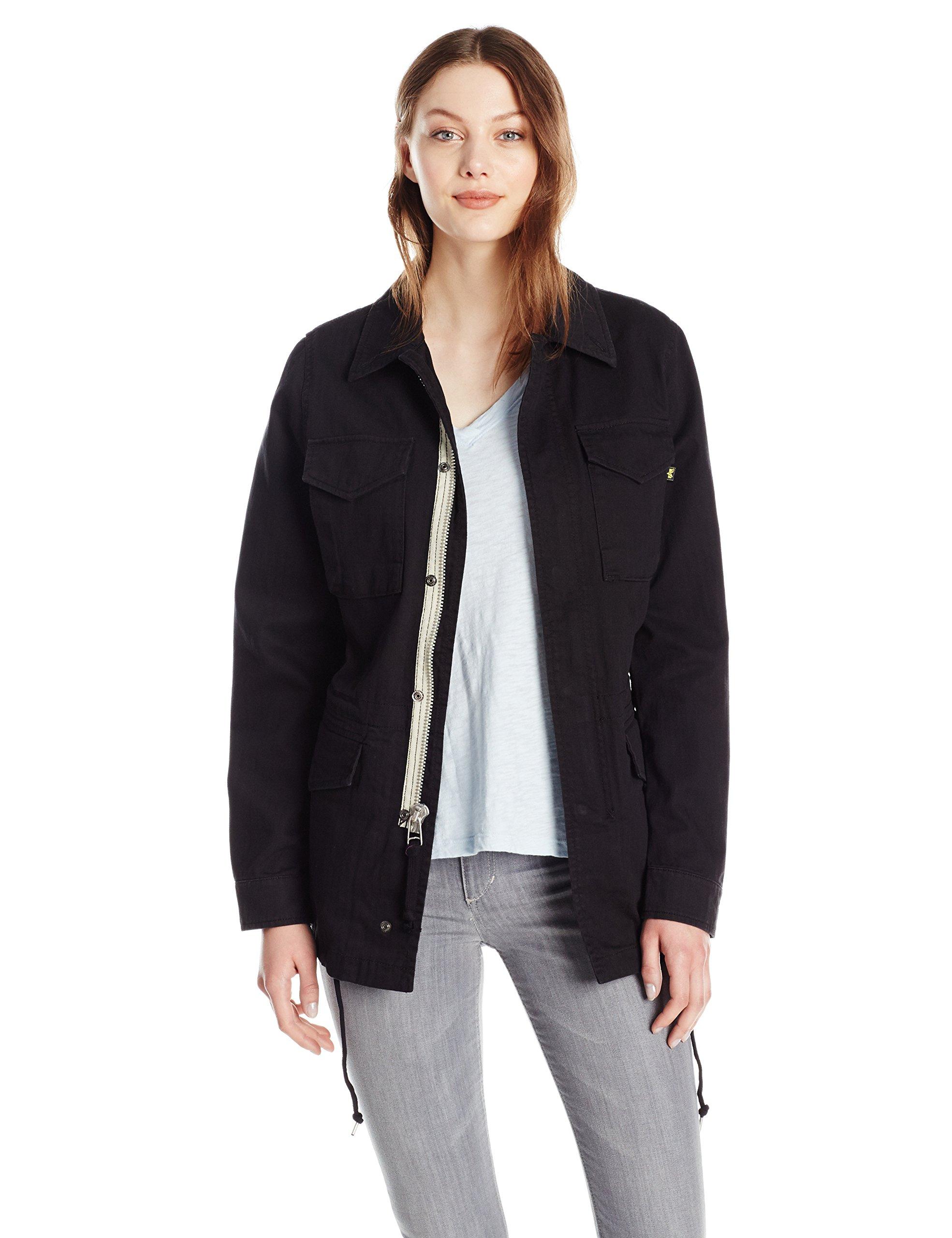 Alpha Industries Women's Revival Field Coat W, Black, S