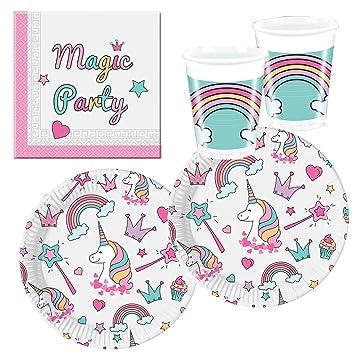 Procos 10118521 Party Set Unicornio Magic Party