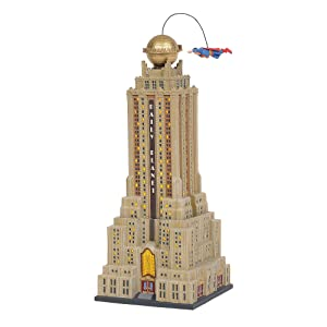 Department 56 Hot Properties Village The Daily Planet Lit Building