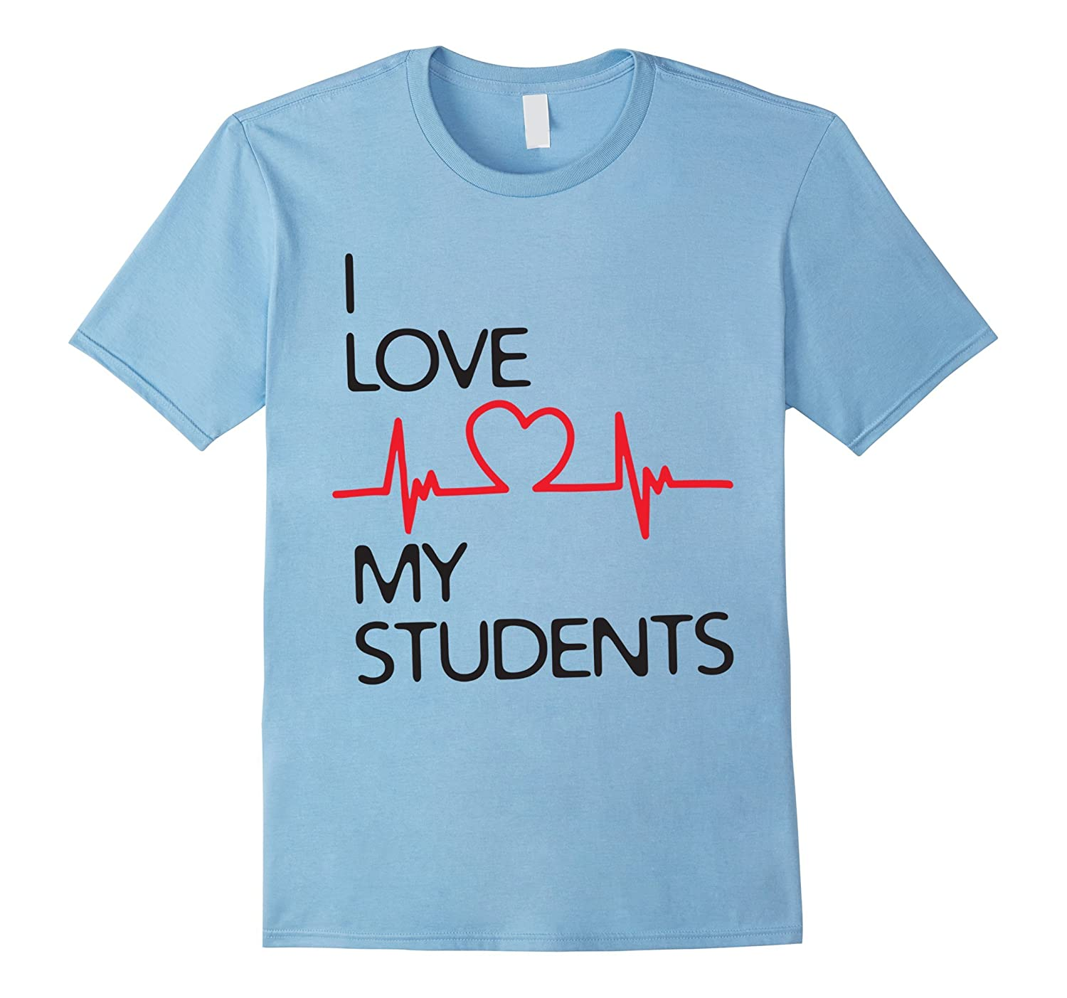 i love my students tshirt, my heart beats my students shirt-Art