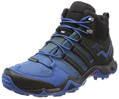 1b1bcbb8e6d adidas Terrex Swift R Mid GTX Hiking Shoes - Men, Blue - (azubas ...
