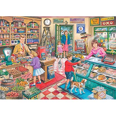1000 Piece Jigsaw Puzzle - Find the Differences No.11 - 'General Store' NEW JULY 2016 by The House of Puzzles