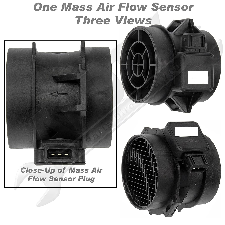 Apdty 028962 Mass Air Flow Sensor Meter Fits 25l Or 27 2005 Kia Sportage Fuel Filter On 2001 2006 Hyundai Santa Fe 2000 Sonata 2003 2008 Tiburon 2009 Tucson Optima 2010 28164 37200 Automotive