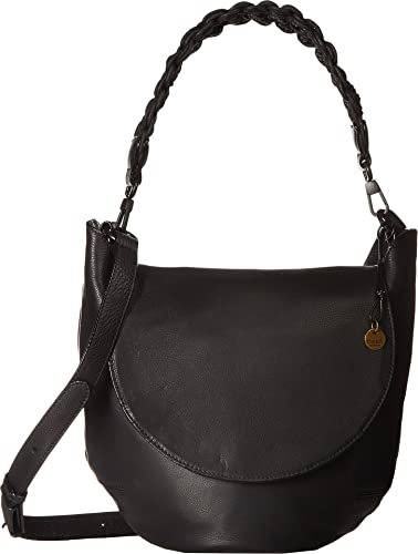 The Sak Bailard Saddle Bag By The Sak Collective (Black) Handbags