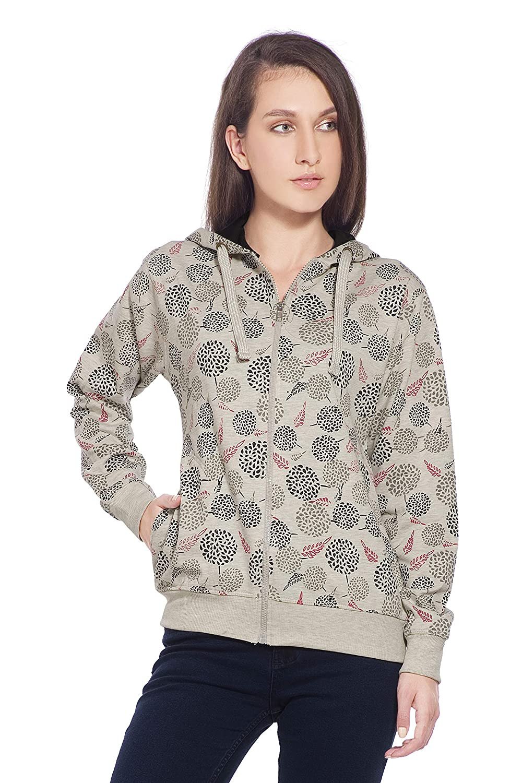 Alan Jones Women s Cotton Hooded SweatshirT 2a9e86b6c