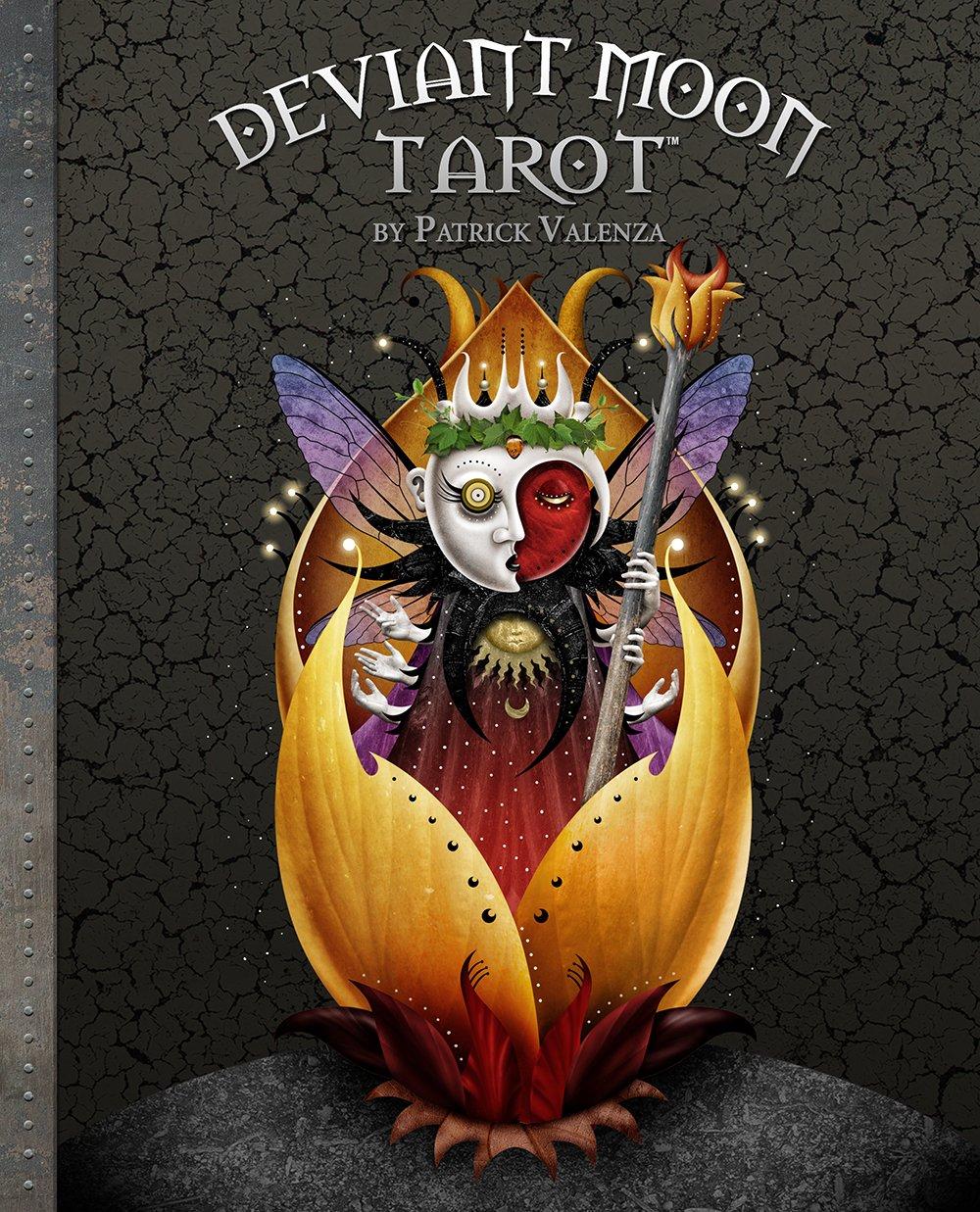 Deviant Moon Tarot Book by U S Games