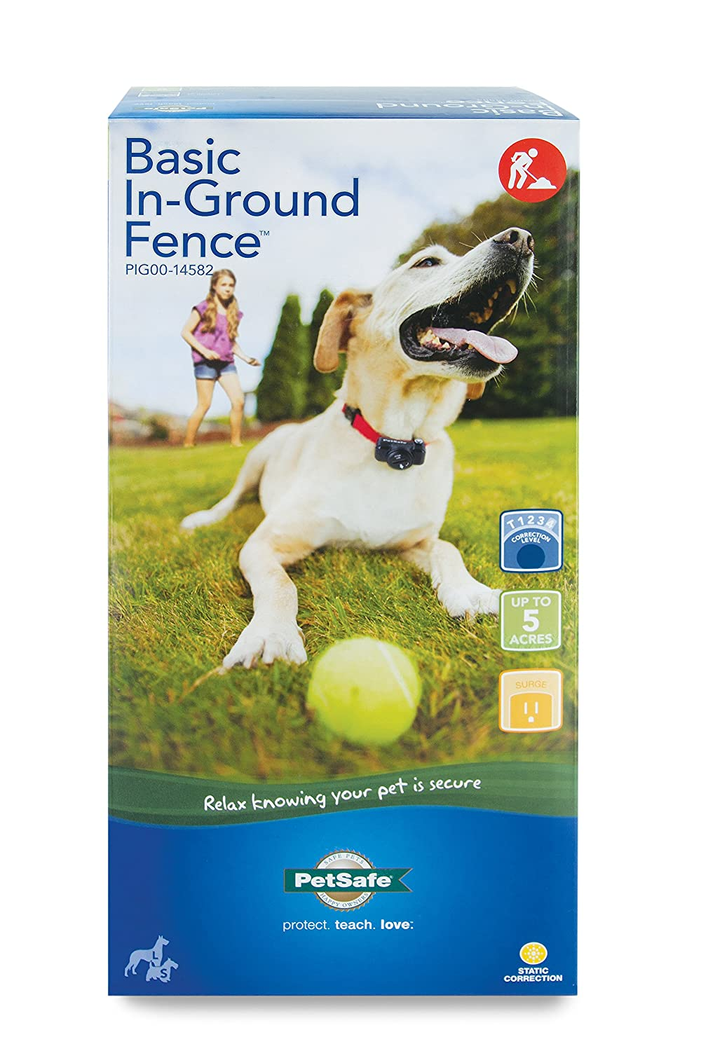 amazon com petsafe basic in ground fence for dogs and cats