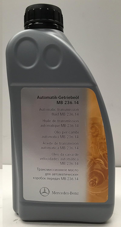 KIT CAMBIO aceite/ fluido de la transmisión automática ORIGINAL de Mercedes Benz ATF 134 6L MB236.14 + A1402770095: Amazon.es: Coche y moto