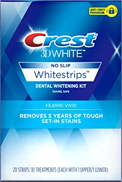 Amazon Com Crest 3d White Whitestrips Classic Vivid Teeth