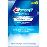 Crest 3D White Classic Vivid Dental Teeth Whitening Strips Kit with 10 Treatments