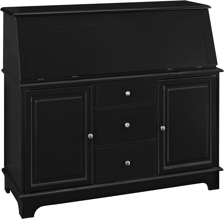 Crosley Furniture Sullivan Secretary Desk – Black