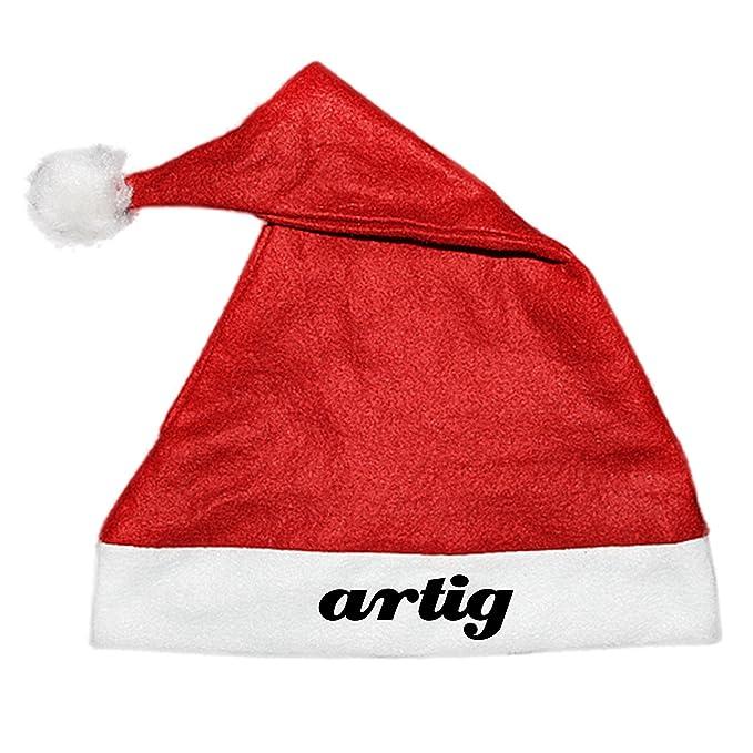COOLEARTIKEL Weihnachtsmütze Nikolaus Mütze mit Aufdruck - Spruch ...