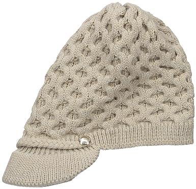 1aeb6975c30ad Calvin Klein Women s Honeycomb Cable Cabbie Hat