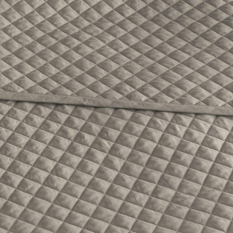 King//California King Linen Diamond Coverlet by Jennifer Adams/®