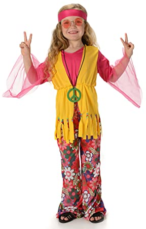 1960/'s Hippie Girl Child Costume