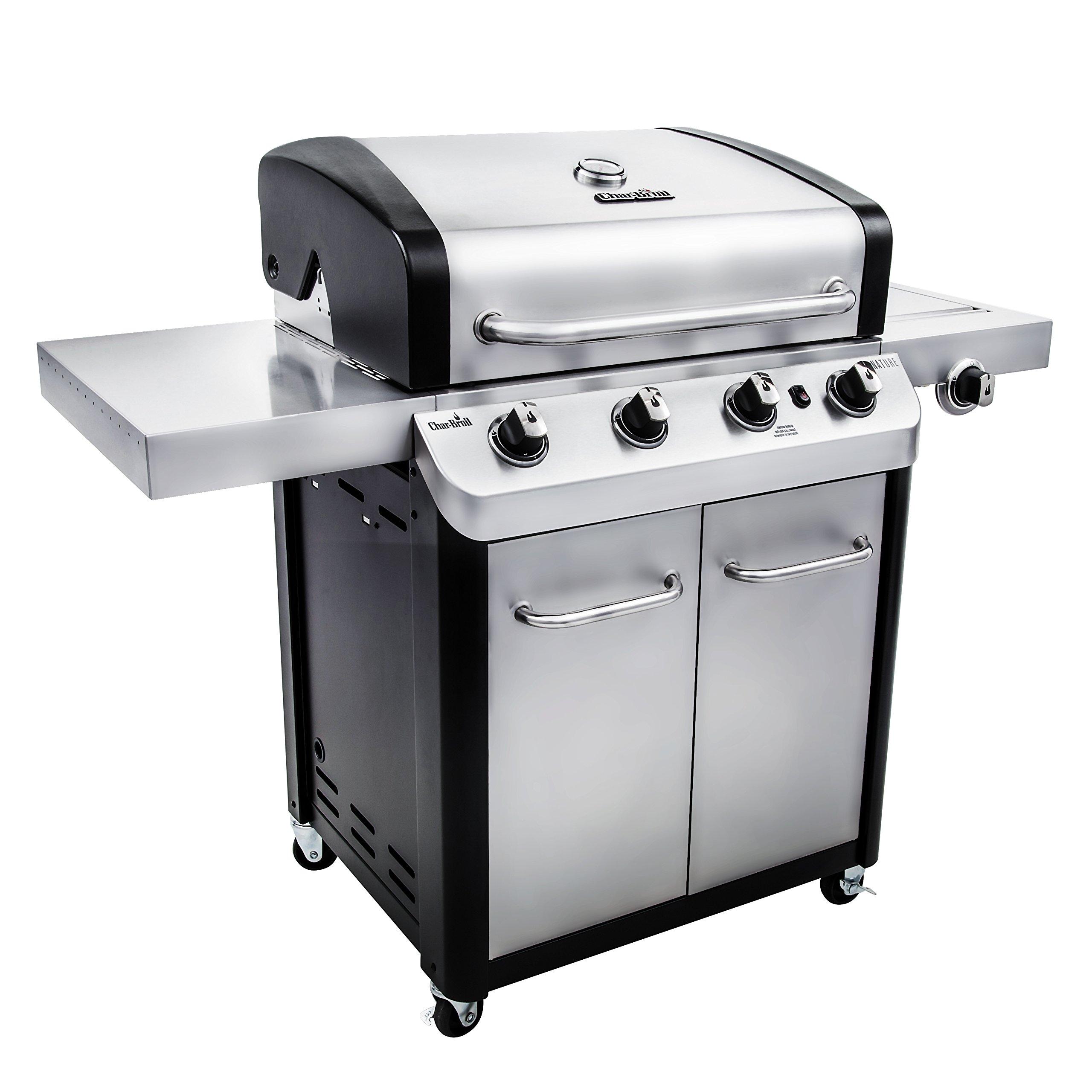 Char-Broil Signature 530 4-Burner Cabinet Liquid Propane Gas Grill