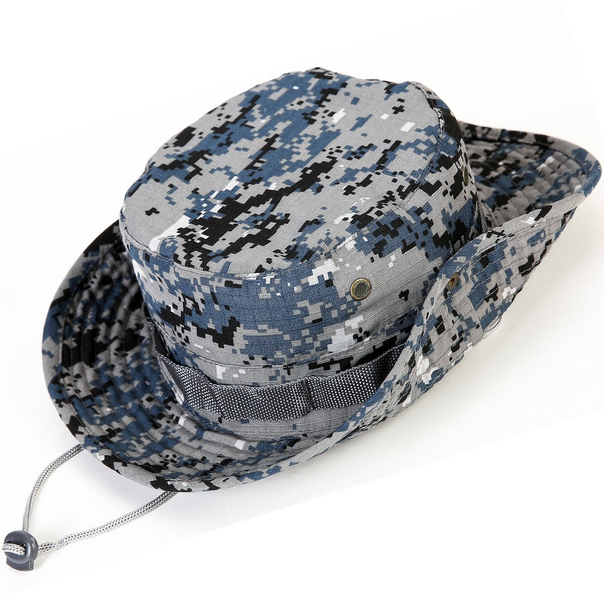 9935697e6afcb kolumb Unisex Military Boonie Hat- Premium Soft Cotton   Polyester Fabric