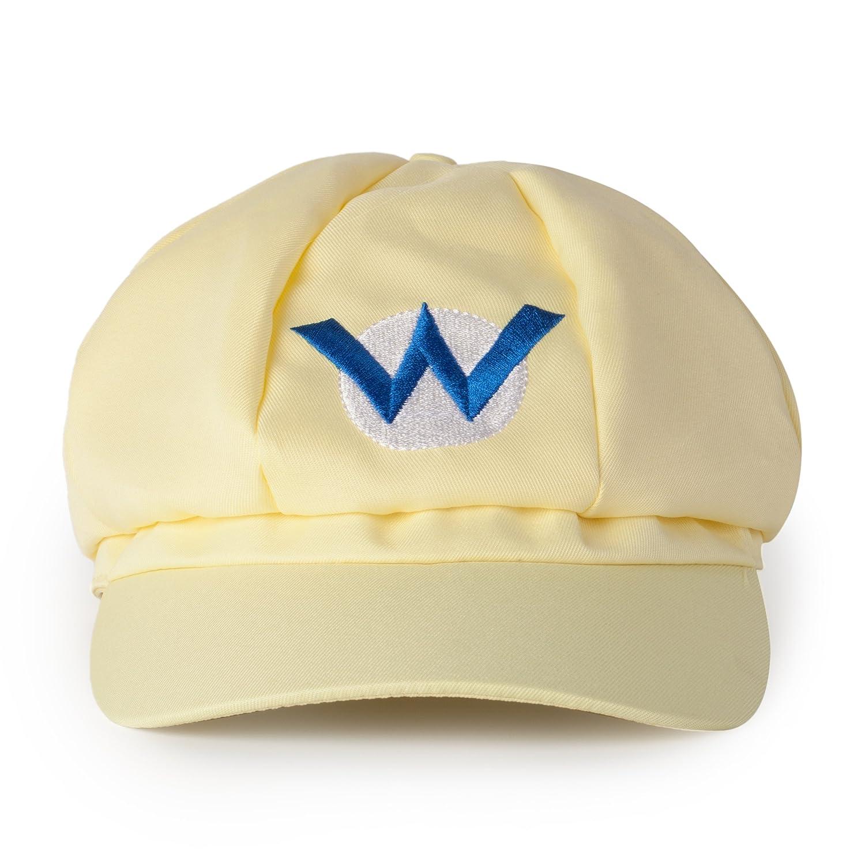 Amazon.com: Super Mario Kart Hats: Mario, Luigi, Wario Caps for Halloween Costumes: Unisex Cosplay (3 Pack): Toys & Games