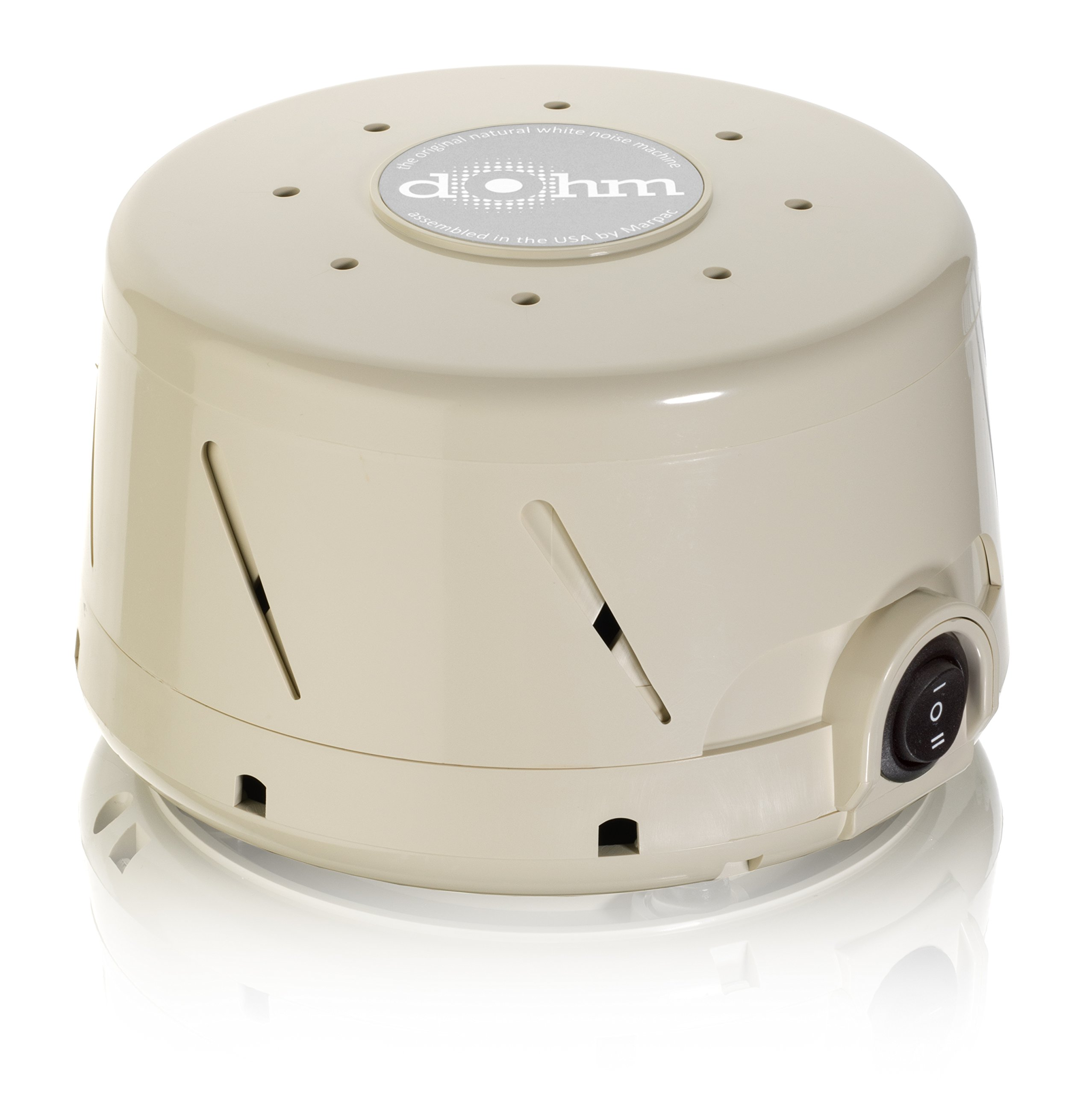 Marpac Dohm-DS All-Natural White Noise Sound Machine, Tan