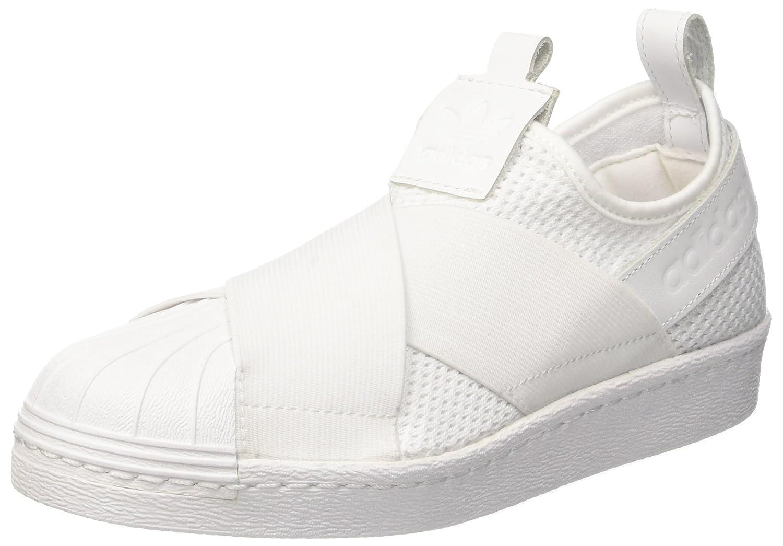 Adidas Damen Superstar Slipon W Basketballschuhe Schwarz 40.5 EU