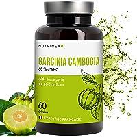 GARCINIA CAMBOGIA NUTRIMEA PUISSANT COUPE-FAIM ET BRULE GRAISSE NATUREL , 60 gélules Complément idéal de votre régime