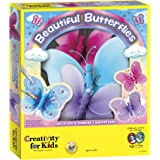 Creativity for Kids Beautiful Butterflies – Make Your Own Butterfly Wall Art & Decor (Packaging May Vary)