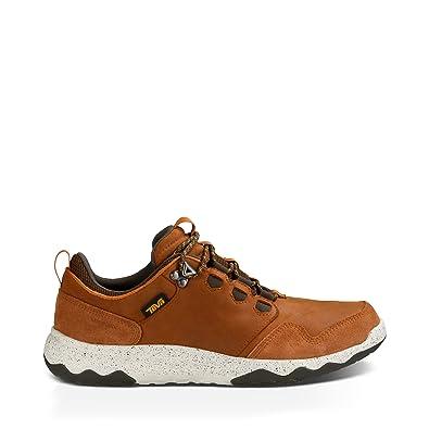 Teva Men's M Arrowood Lux Waterproof Hiking Shoe, Cognac, ...