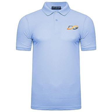 a4f23ba64d0 DG Mens Polo Shirt TOP Short Sleeve Pique Designer Polo Shirt   Amazon.co.uk  Clothing