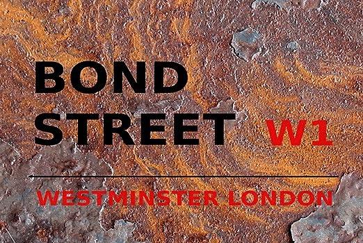 Blechschilder Cartel de Chapa de Metal, diseño de Londres ...