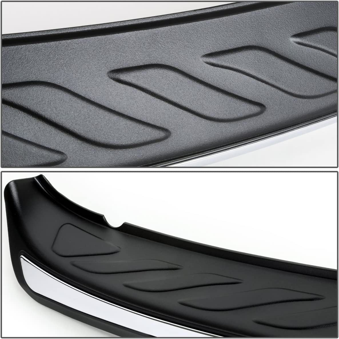 DNA MOTORING RBG-ABS-001 Trunk Sill Plate Rear Bumper Protector Fit 13-16 CX-5,Black