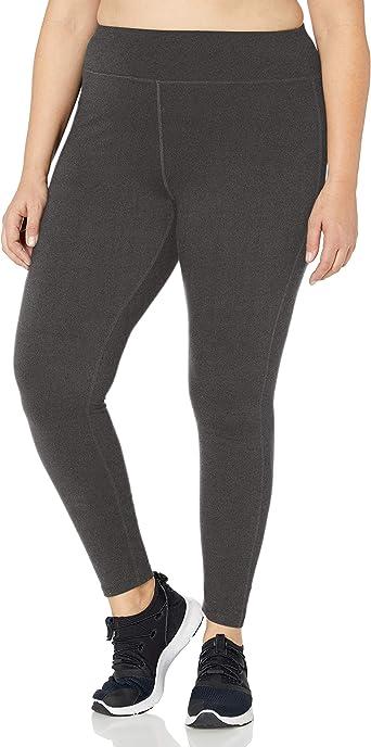 Just My Size Womens Active Mesh Pieced Run Legging Shirt