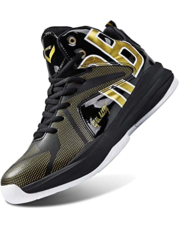 save off 97f8d 5264e WETIKE Kid s Basketball Shoes High-Top Sneakers Outdoor Trainers Durable  Sport Shoes(Little Kid