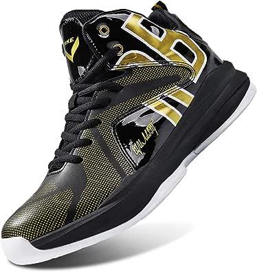 WETIKE Kid's Basketball Shoes High-Top