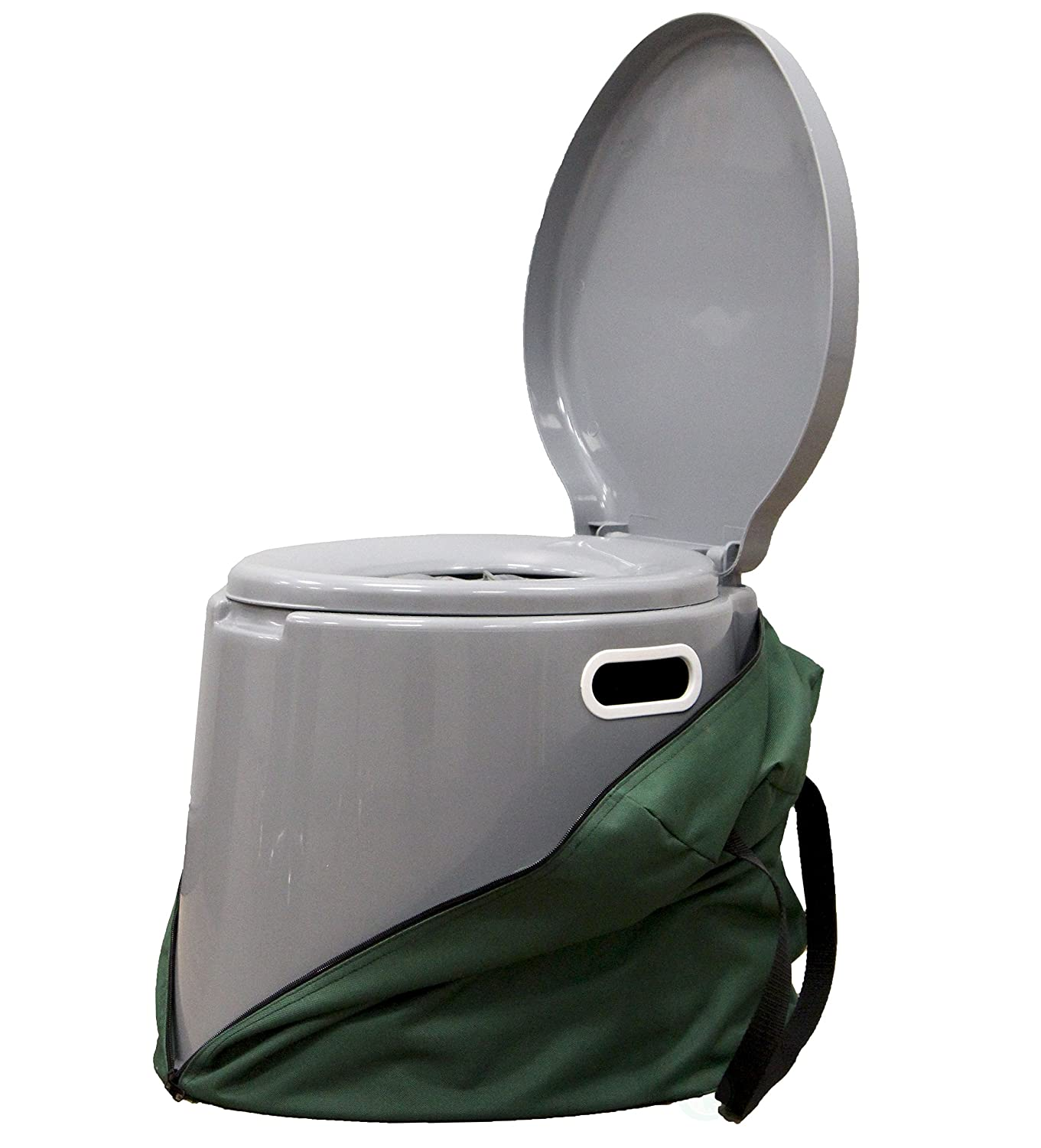 Basicwise Portable Travel Toilet for Camping and Hiking Quickway Imports QI003241.K