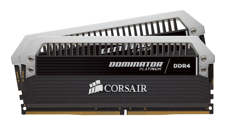 Corsair Dominator Platinum DDR4 16 GB (2 x 8 GB) 4000 MHz C19 XMP 2 0  Enthusiast Desktop Memory Kit with Dominator Airflow RGB LED Fan Kit