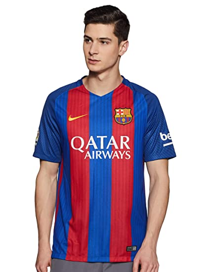 a5459510691 Amazon.com   Nike Mens FC Barcelona Stadium Jersey-Sport Royal ...